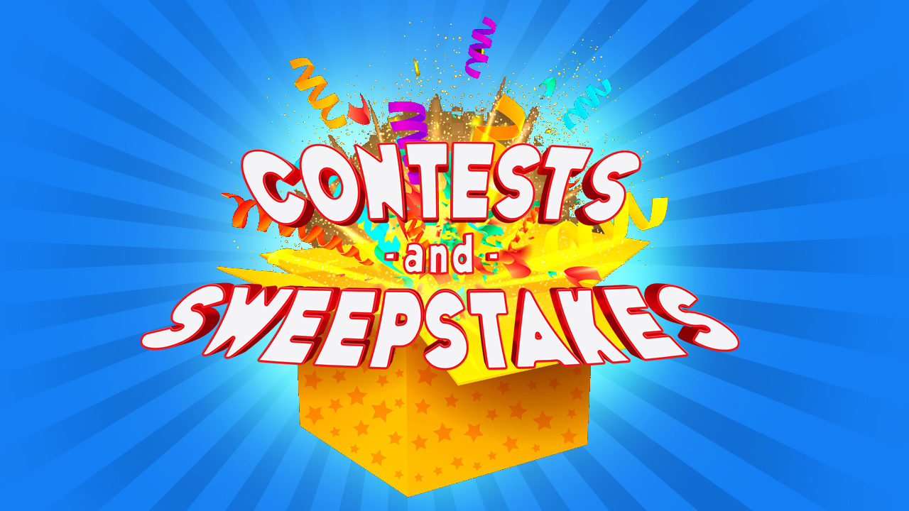 12 New Contests – 36 New Winners!